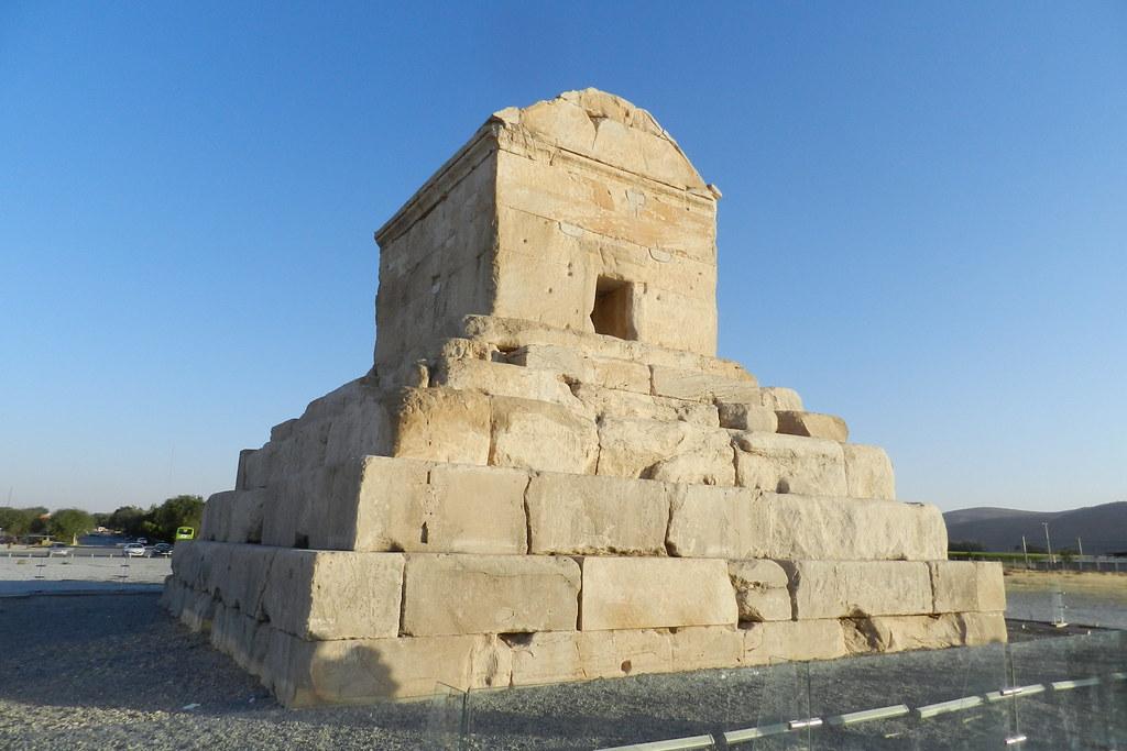 Tumba de Ciro II El Grande Pasargad Irán 05