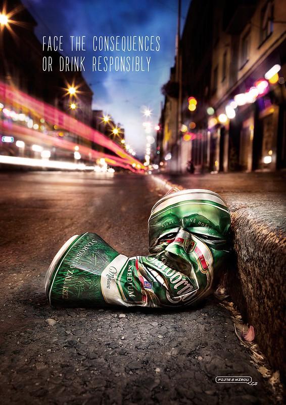 Heineken Beer - Face the consequences 1