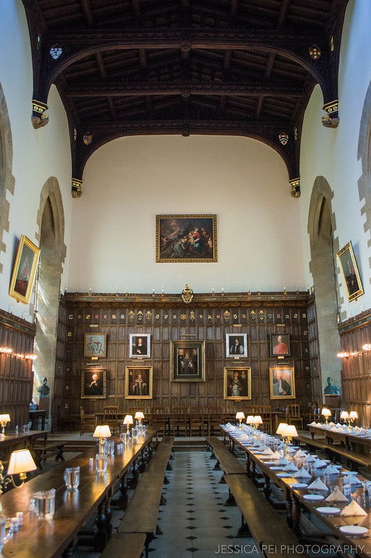 New College Oxford Dining Room