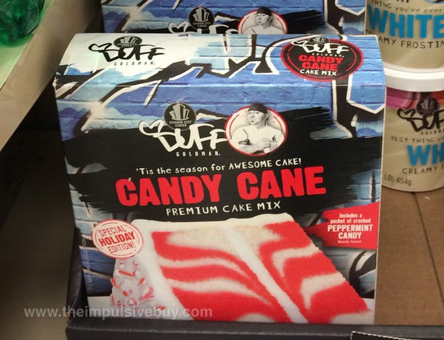 Charm City Cakes Duff Goldman Special Holiday Edition Candy Cane Premium Cake Mix