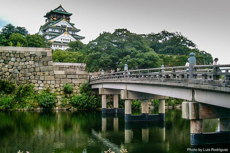 Castillo de Osaka, en nuestros itinerarios por Japón en 2 semanas