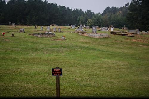 No Trespassing Cemetery