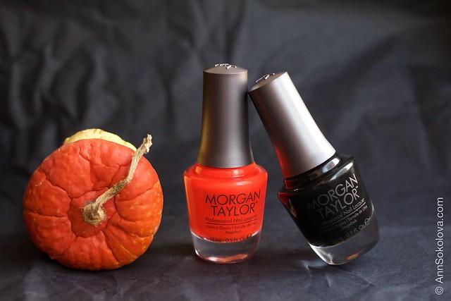 01 Morgan Taylor Halloween Collection 2014   Orange Crush swatches