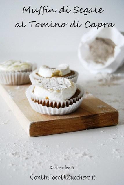 Muffin di segale al tomino