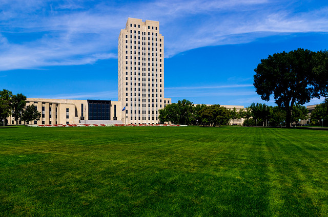 State Capitol of North Dakota