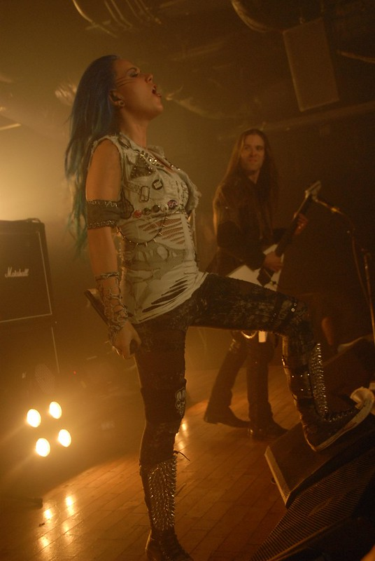 Arch Enemy at the Baltimore SoundStage