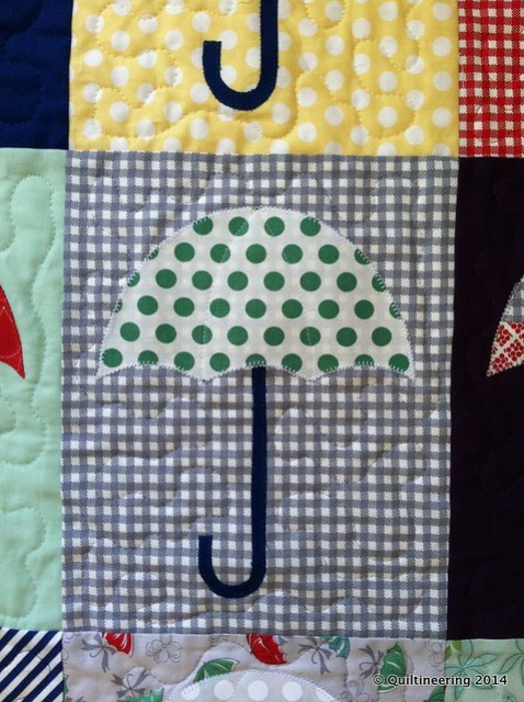 Raincheck Quilt made by Quiltineering
