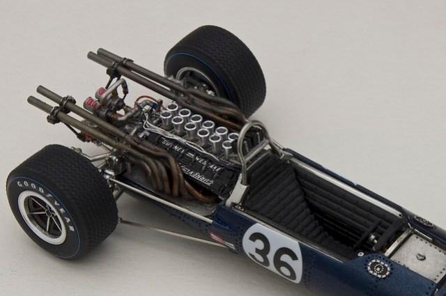 EAGLE Weslake T1G Belgian GP 1967