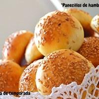 Panecillos de hamburguesa mini