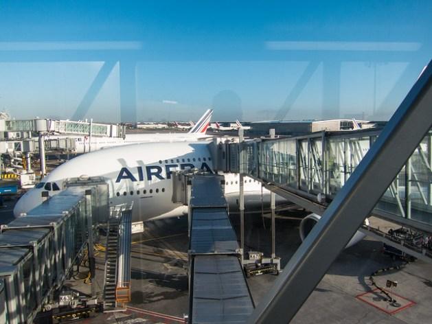 Air France A380 USA 2014 CDG-LAX