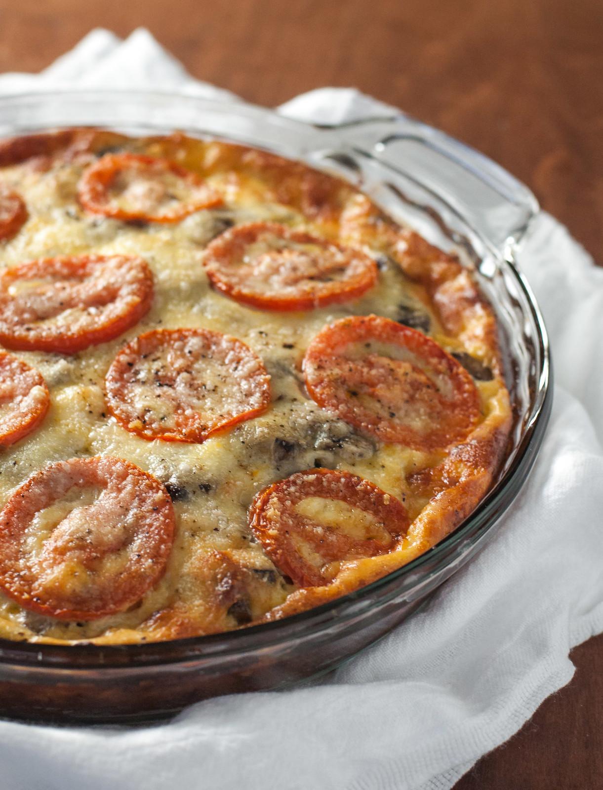 Caramelized onion tart on potato crust   #meatless #glutenfree