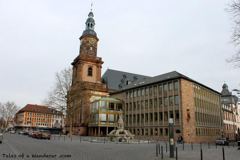 WORMS - Dreifaltigkeitskirche