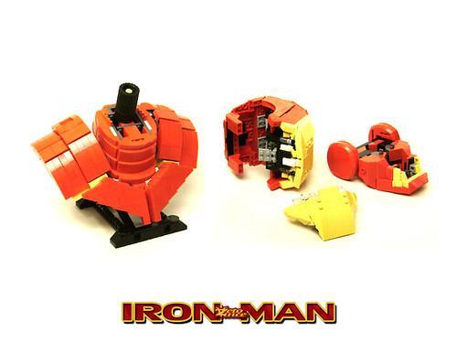 IronMan Bust - breakdown
