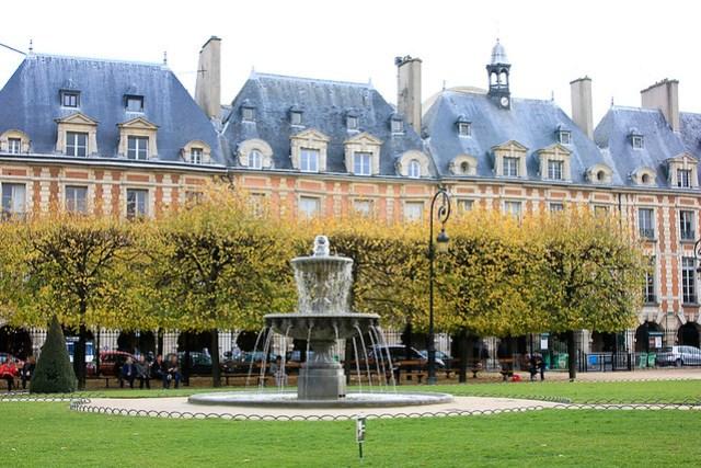 PARIS - Place de Vosges-0729
