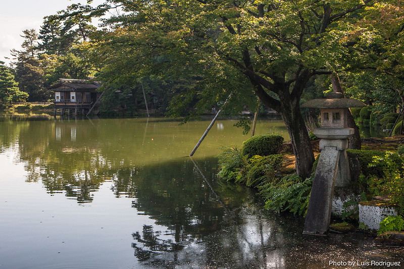 Kenroku-en en Kanazawa, idea para un itinerario por Japón de 2 semanas