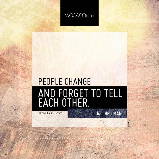 People change by WOCADO.com