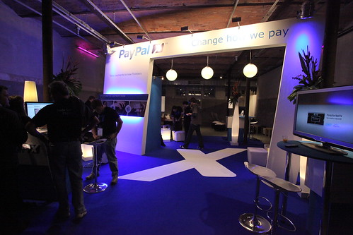 PayPal booth at LeWeb