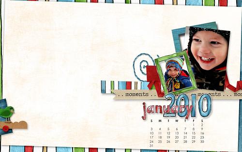 January 2010 Desktop