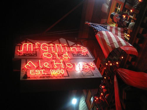 McGillan's Neon Sign