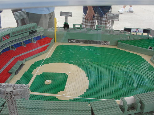 Fenway Park Made of Legos