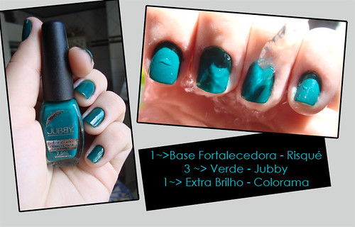 Verde - Jubby by Bruna Jacubovski - Unhas !.