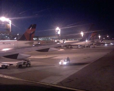 Arrival at JFK
