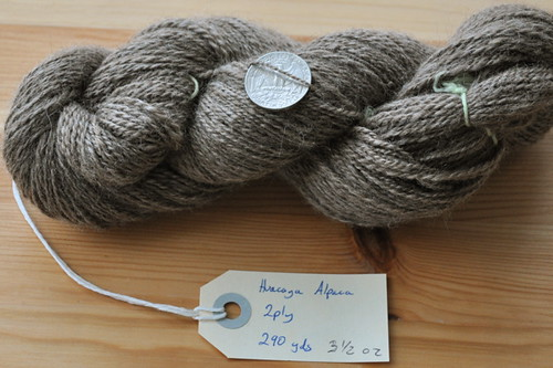 Rose Grey alpaca.