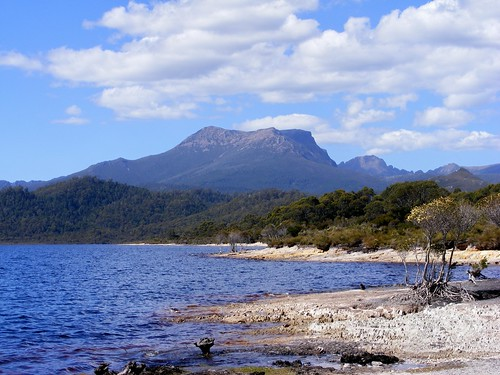 Mt. Anne from the Shores of Lake Pedder