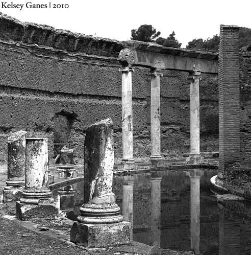 Hadrian's Villa, Maritime Theater, Villa Adriana, Tivoli, Italy, Italia