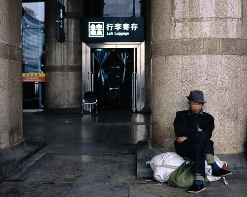 China Photo: Left Luggage