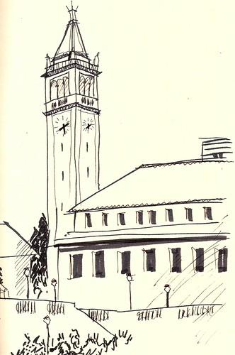 Campanile sketch