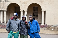 south africa 2010 - durban - three buddies