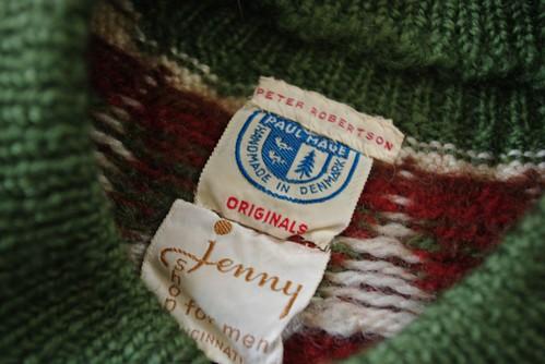 Vintage Sweater Labels