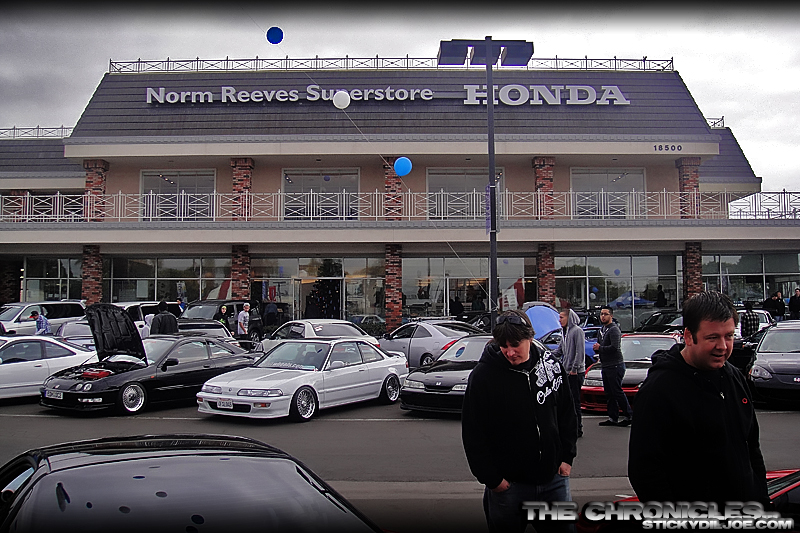4th Annual Norm Reeves Honda Car Show and Toy Drive  The