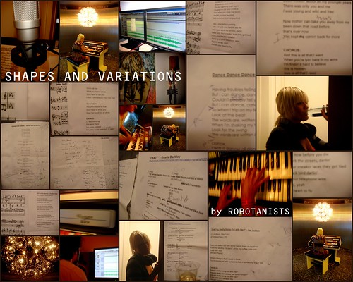 """ROBOTANISTS: Recording """"Shapes and Variations"""" Covers  Album / Fall 2009"""