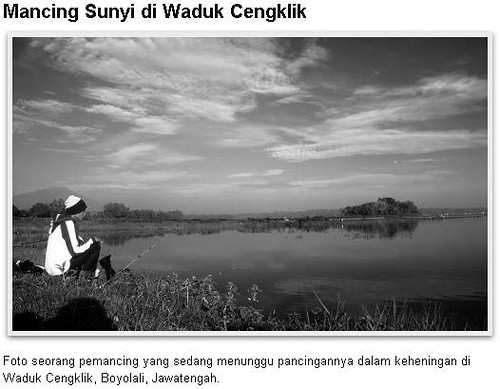 Mancing Sunyi di Waduk Cengklik Boyolali Jawa Tengah | Mishbahul Misbah Munir Fotografer Jogja