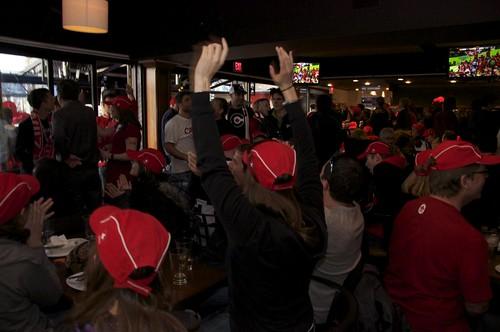 Vancouver 2010: Day 7 - House of Switzerland to watch Canada vs. Switzerland Men's Hockey