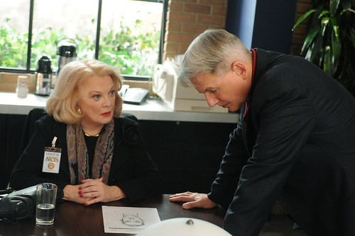 Gibbs and mother-in-law Gena Rowlands