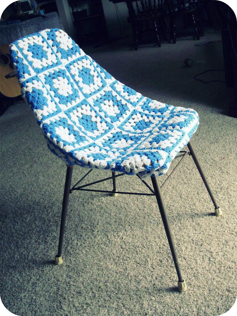 Granny Square Chair