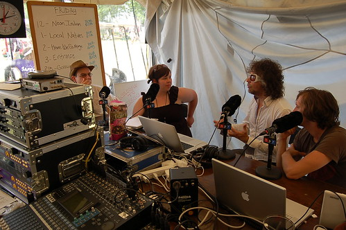 Bob Boilen and Jilly Riley interview Wayne and Dennis Coyne by allsongs.