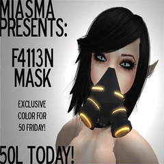 Miasma - F4113N Mask - Click picture for larger view