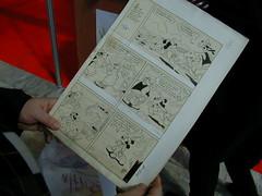 Originale di arte visiva a fumetti