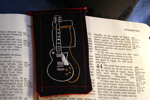 Les Paul Bookmark
