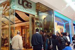 UGG Store at Westfield, Shepherd's Bush, London