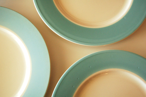 New vintage dishes.