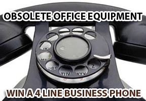 Obsolete Office Equipment on Lenzr from business phone sponsor prize is advanced telephone equipment
