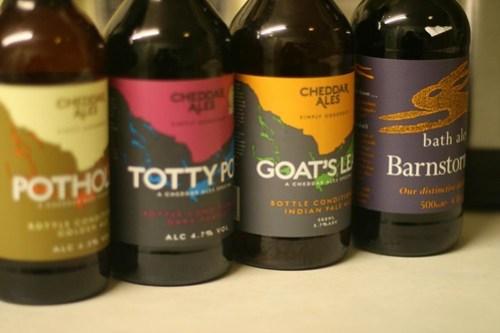Beers from westcountryales - Cheddar Bews