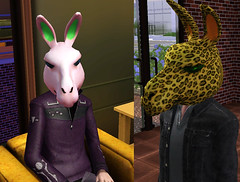 French Fries Hat, Llama Head, Propeller Hat for The Sims 3!