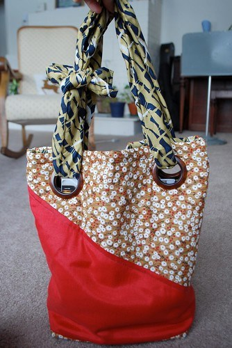 New Bag Made at Sewing Class on Sunday - 02