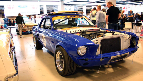 Ford Mustang Vintage Race Car